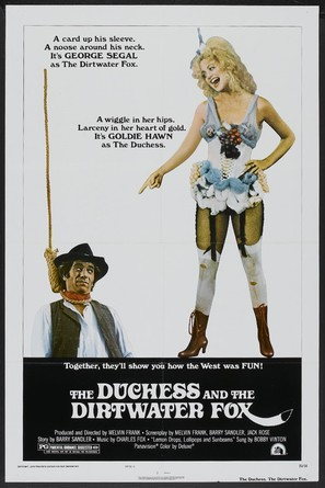 The Duchess and the Dirtwater Fox - Movie Poster (thumbnail)