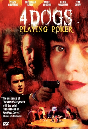Four Dogs Playing Poker - DVD cover (thumbnail)