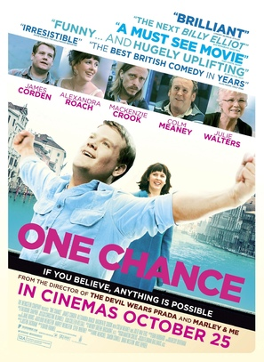 One Chance - British Movie Poster (thumbnail)
