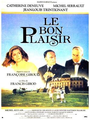Bon plaisir, Le - French Movie Poster (thumbnail)