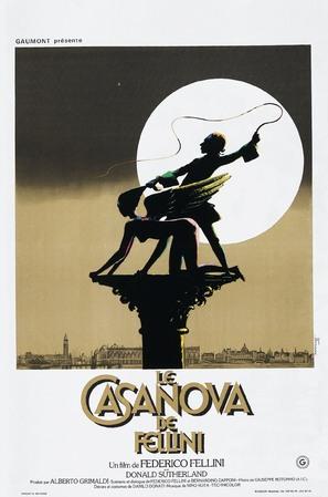 Il Casanova di Federico Fellini - French Movie Poster (thumbnail)