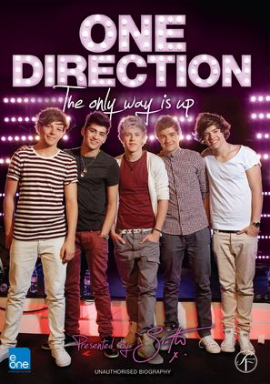 One Direction: The Only Way is Up - Danish DVD cover (thumbnail)