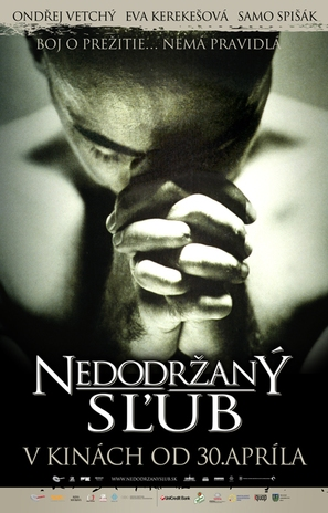 Nedodrzaný slub - Slovak Movie Poster (thumbnail)