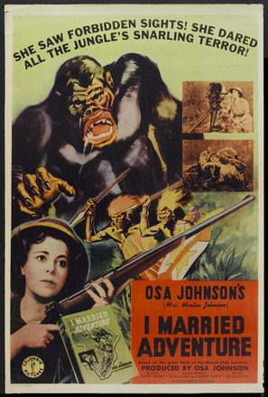 I Married Adventure - Movie Poster (thumbnail)