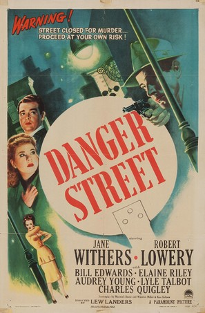 Danger Street - Movie Poster (thumbnail)