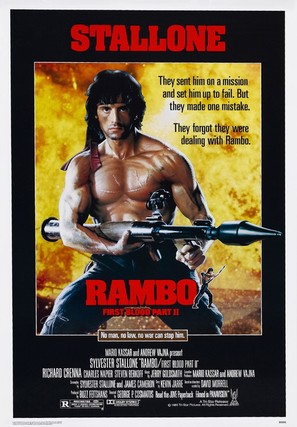 Rambo: First Blood Part II - Movie Poster (thumbnail)
