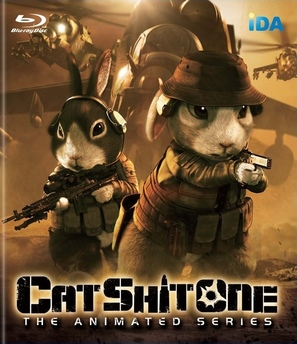 Cat Shit One - Japanese Blu-Ray movie cover (thumbnail)