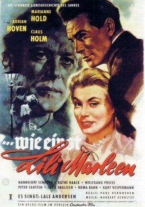 ...wie einst Lili Marleen - German Movie Poster (thumbnail)