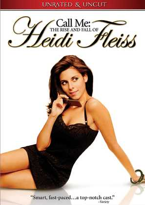 Call Me: The Rise and Fall of Heidi Fleiss - DVD cover (thumbnail)