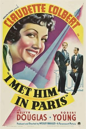 I Met Him in Paris - Movie Poster (thumbnail)