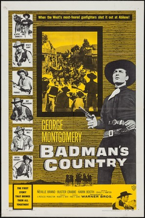 Badman's Country - Movie Poster (thumbnail)