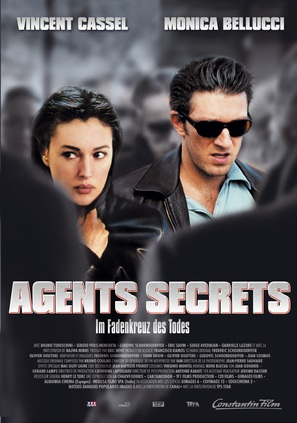Agents secrets - German Movie Poster (thumbnail)