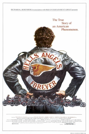 Hell's Angels Forever - Movie Poster (thumbnail)