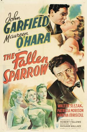 The Fallen Sparrow - Movie Poster (thumbnail)