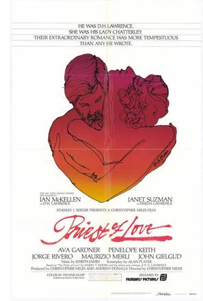 Priest of Love - Movie Poster (thumbnail)
