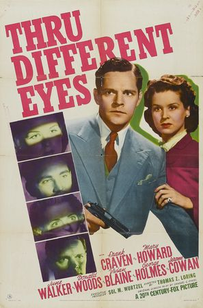 Thru Different Eyes - Movie Poster (thumbnail)