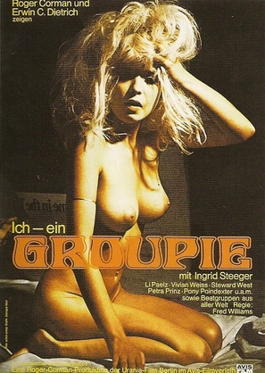Ich, ein Groupie - German Movie Poster (thumbnail)