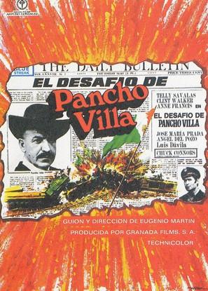 Pancho Villa - Spanish Movie Poster (thumbnail)