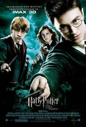 Harry Potter and the Order of the Phoenix - Movie Poster (thumbnail)