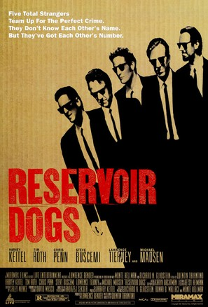 Reservoir Dogs - Theatrical movie poster (thumbnail)