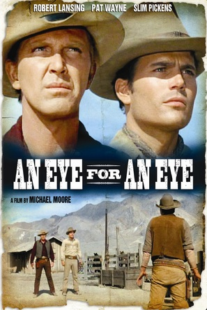 An Eye for an Eye - DVD cover (thumbnail)