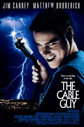 The Cable Guy - Movie Poster (thumbnail)
