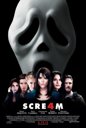 Scream 4 - Movie Poster (thumbnail)