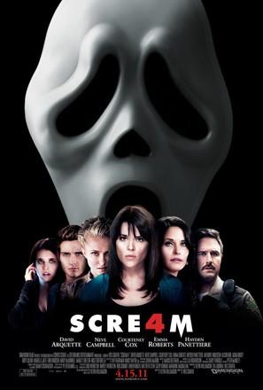 Scream 4 - Movie Poster (thumbnail)