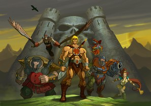 """He-Man and the Masters of the Universe"" - poster (thumbnail)"