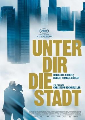 Unter dir die Stadt - German Movie Poster (thumbnail)