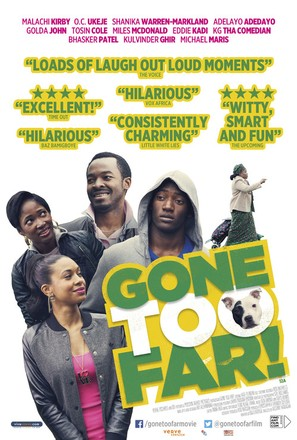 Gone Too Far - British Movie Poster (thumbnail)