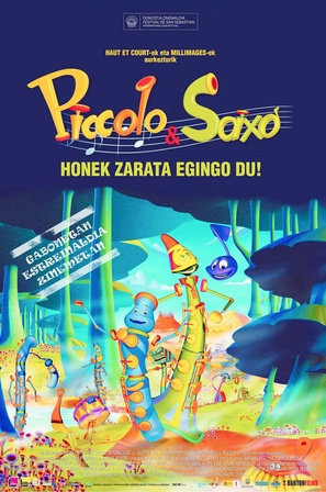 Piccolo, Saxo et compagnie - Spanish Movie Poster (thumbnail)