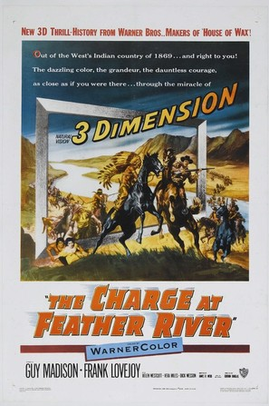 The Charge at Feather River - Theatrical poster (thumbnail)