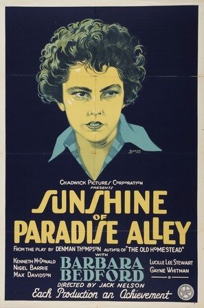 Sunshine of Paradise Alley - Movie Poster (thumbnail)