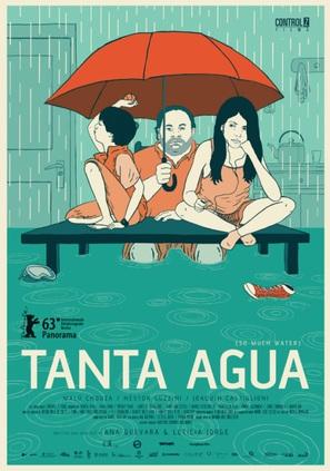 Tanta agua - Uruguayan Movie Poster (thumbnail)