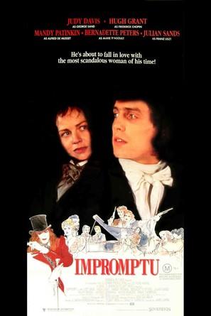 Impromptu - Movie Poster (thumbnail)