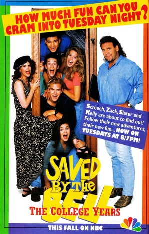 """Saved by the Bell: The College Years"" - Movie Poster (thumbnail)"