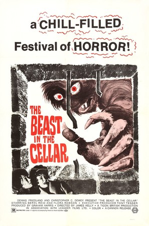 The Beast in the Cellar - Movie Poster (thumbnail)