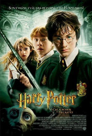 Harry Potter and the Chamber of Secrets - Movie Poster (thumbnail)