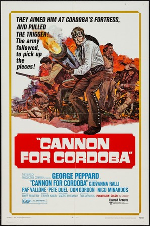 Cannon for Cordoba - Movie Poster (thumbnail)