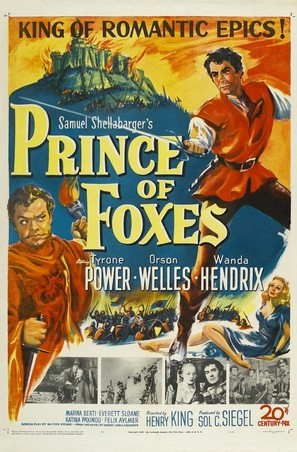 Prince of Foxes - Movie Poster (thumbnail)