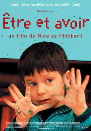 Être et avoir - French Movie Poster (thumbnail)