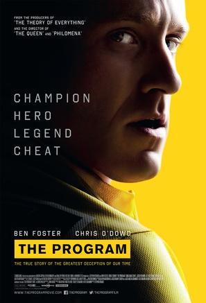 The Program - British Movie Poster (thumbnail)
