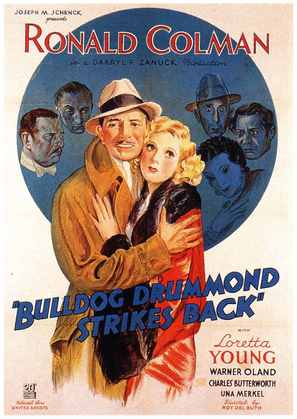 Bulldog Drummond Strikes Back - Movie Poster (thumbnail)