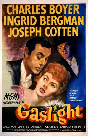 Gaslight - Theatrical poster (thumbnail)