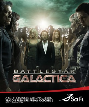 """Battlestar Galactica"" - Movie Poster (thumbnail)"