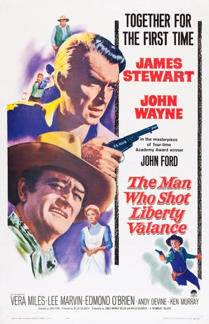 The Man Who Shot Liberty Valance - Movie Poster (thumbnail)