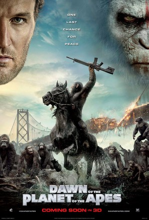 Dawn of the Planet of the Apes - Movie Poster (thumbnail)