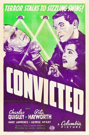 Convicted - Movie Poster (thumbnail)