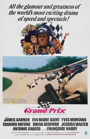 Grand Prix - Movie Poster (thumbnail)